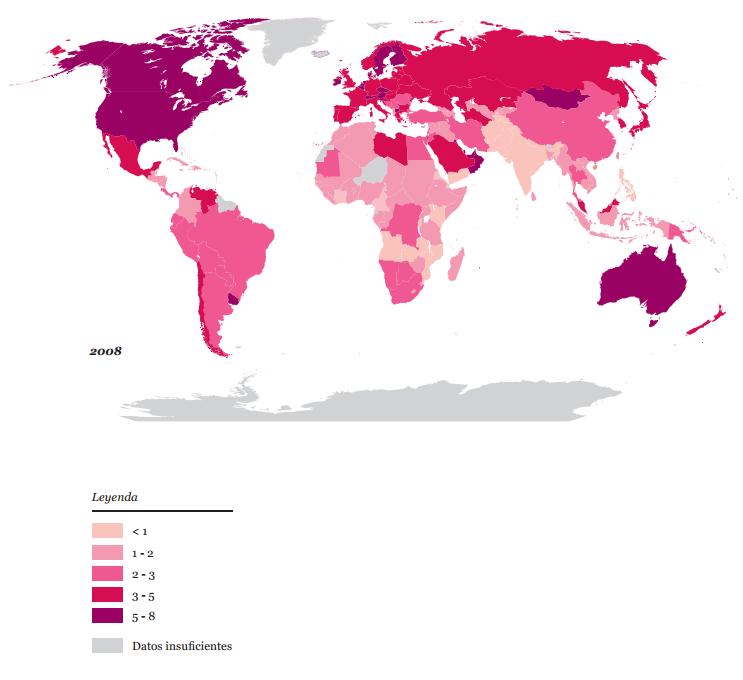 WWF: Informe Planeta Vivo 2012