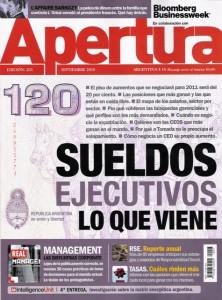 Revista Apertura Edición 203 Septiembre 2010