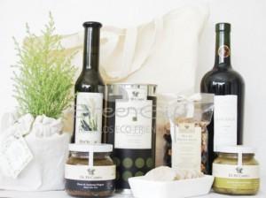 Set de navidad oliva