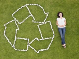 símbolos del reciclaje