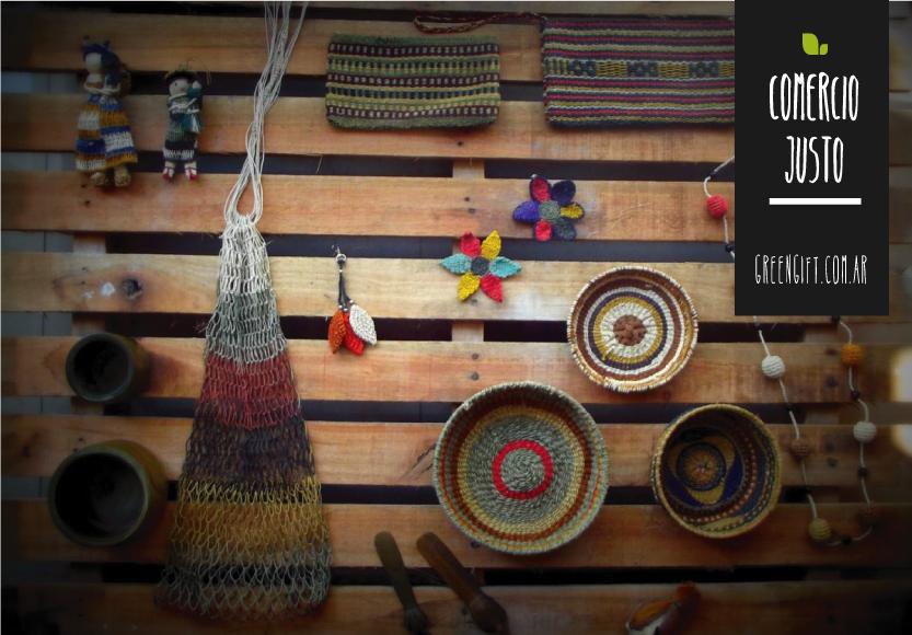 regalos sustentables / comercio justo