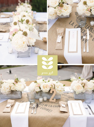 Detalles y souvenirs para bodas eco friendly