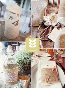 Detalles y souvenir para bodas eco friendly