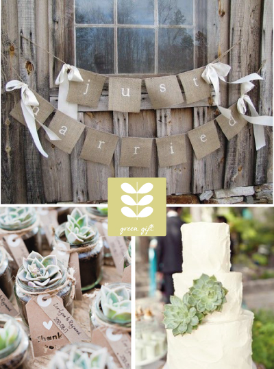 18 fotos inspiracionales para celebrar una boda eco friendly