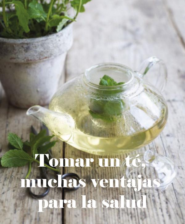 Tomar un té, muchas ventajas para tu salud