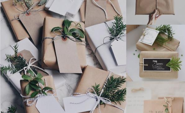 Inspirate para envolver tus regalos de manera simple y eco friendly