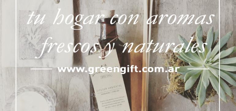 Llená de armonía tu hogar con aromas frescos y naturales